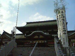 椿神社参拝